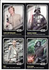 2016 Topps Star Wars Card Trader Physical Base Set - 100 Cards