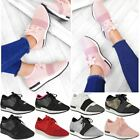 New Womens Ladies Runners Bali Lace Up Trainers Sneakers Designer Shoes Size