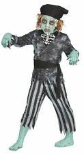 Chicos fantasma Zombie Pirata Disfraz Halloween Traje para niños