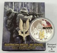 2007 Australian Special Air Services (SAS) 1oz Silver Proof Australian Coin
