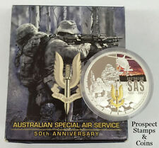 2007 Australian Special Air Services (SAS) 1oz Silver Proof Australian Coin