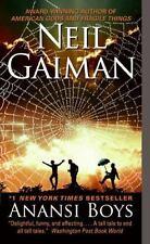 Anansi Boys by Neil Gaiman (2006, Paperback) Used