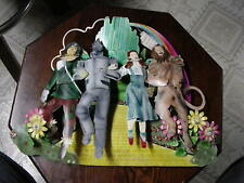 Metal Wizard Of Oz Wall Hanging With All Characters - Must See