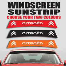 Citroen windscreen sunstrip car graphics berlingo saxo c3 decal sticker ss19