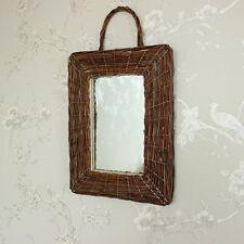 Rechteckige Rustikale Deko-Spiegel fürs Badezimmer