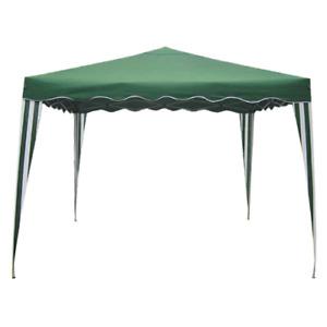 Sumter Pavillon mt 2x3 aus Stahl und faltbarem grünem Polyethylen für den Garten