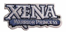 "Xena Warrior Princess TV Series Name Logo 3 1/2"" Embroidered Logo Costume Patch"