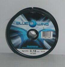 Nylon Shimano Blue wing 0.18mm 3.000kg 200m