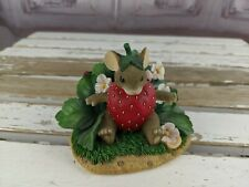 Charming tails mice fitz your special strawberry floyd mouse flowers