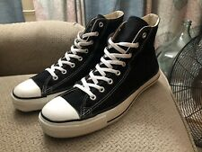 VINTAGE BLACK CONVERSE ALL STAR CHUCK TAYLOR HIGH TOP MADE in USA SIZE 13
