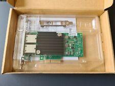 Intel X550-T2 Dual Port Converged 10GbE Network Card PCI-E, New