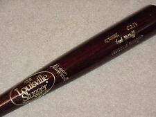 Fred McGriff H&B 1989 ALCS Large Logo Game Bat Toronto Blue Jays Padres Braves