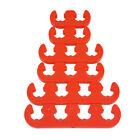 7mm 8mm Spark Plug Wire Separators Dividers Looms 9727 Red Fit Chevy Ford Mopar