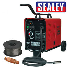 Sealey MIGHTYMIG150 Professional Gas/No-Gas MIG Welder 150Amp 230V w/ Tip & Wire