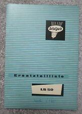 Welger Stalldungstreuer LS50 Ersatzteilliste