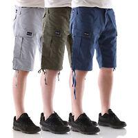 BIG SEVEN XXL Brian Cargo Shorts Bermuda Herren Jeans Hose Freizeit Übergröße