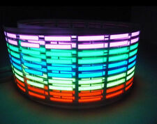 Car Sticker Music Rhythm multicolour 70*16cm  LED Flash Light Sound Activated