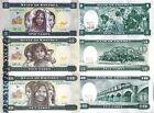 ERITREA - Lotto 3 banconote 1/5/10 Nakfa 1997 FDS - UNC