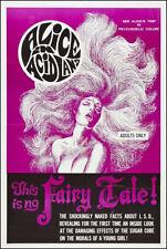 "Alice in Acidland movie poster 1968 Poster Replica 13x19"" Photo Print"