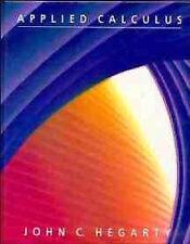 Applied Calculus, Hegarty, John C., 0471612405, Very Good Book