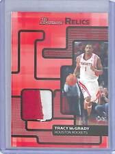 2007-08 Bowman Draft Picks Patch Relic #BR-TM Tracy McGrady