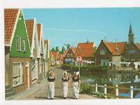 Volendam Netherlands Postcard 446a