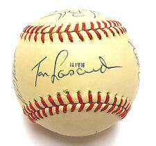 a1586fad3 JSA Tom LaSorda Bill Russell Johnny Podres Gott Signed Autographed Dodgers  Ball