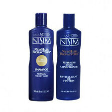 NISIM THINNING HAIR LOSS SLS-Free SHAMPOO & CONDITIONER MENS WOMENS ITCHY SCALP