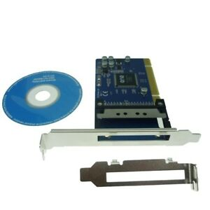PCI to PCMCIA 16/32-bit PCMCIA Cardbus to 32bit PCI for Desktop PC Chipset ENE