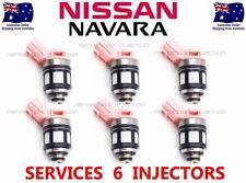 FUEL INJECTOR SERVICE KIT SUIT NISSAN NAVARA D22 VG30E 3.0L V6 00-04 INJECTORS