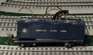 American Flyer No 350 Royal Blue Tender -For Restoration