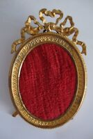 PICTURE FRAME ANTIQUE FRANCE BRONZE does not hav GILT SMALL  SHIPPING WORLDWIDE