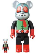 Bearbrick Kamen Rider New 2 100% & 400% Bearbrick Medicom Toy