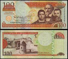 DOMINICAN REPUBLIC 100 PESOS (P184b) 2011 UNC
