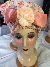 WASHABLE SHOWER CAP Waterproof Lined Long Hair Oversized Dots Comfort Women Bath