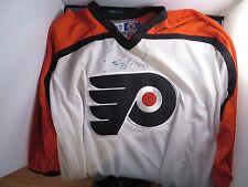 Jeremy Roenick Signed Philadelphia Flyers XL Jersey BSC COA Autograph CCM