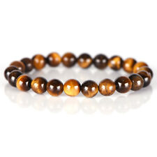 Natural Tiger Eye Stone Lucky Bless Beads Men Woman Jewelry Bracelet LJ