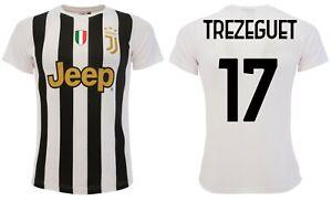 Maillot Trezeguet Juventus 2021 Juve Officiel Home David 17 Bajc 2020