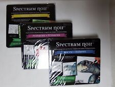 Spectrum Noir set of 3 colored pencil sets in tins- New in Box