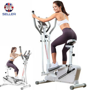 All-In-One Elliptical Machine Cross Trainer Exercise Bike Aerobic Pedal Workout