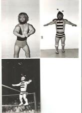 6 ICW Poffo wrestling photo picture LOT MIDGET Marvin Curtis NWA Mighty Cupid
