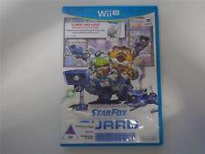 Tarjeta de descarga de Star Fox Guardia En Caja Wii U Nuevo caso dañado