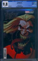 Venom 31 (Marvel) CGC 9.8 White Pages Donny Cates story Stegman Variant