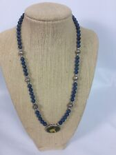 925 Lapis Sodalite necklace Stunning Carolyn Pollack Southwestern Sterling