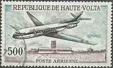 Timbre Avions Haute Volta PA47 o lot 9619