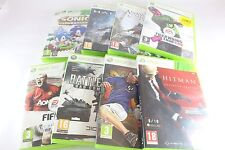XBOX 360 Lot Assassin's Creed Hitman Halo Sonic Génération Hitman Battlefield