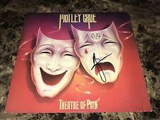 Motley Crue Signed Vinyl LP Record Vince Neil Exact Photo Proof Theatre Of Pain