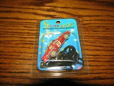 DALE JR #8 Budweiser Car - Flashing Blinkie Necklace/Pin!!  Cool!!