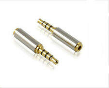 3.5mm Male to 2.5mm Female Stereo Audio Headphone MIC Adapter Converter