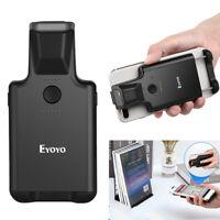 Eyoyo 2D Bluetooth Barcode Scanner Portable Clip Wireless 1D 2D QR US